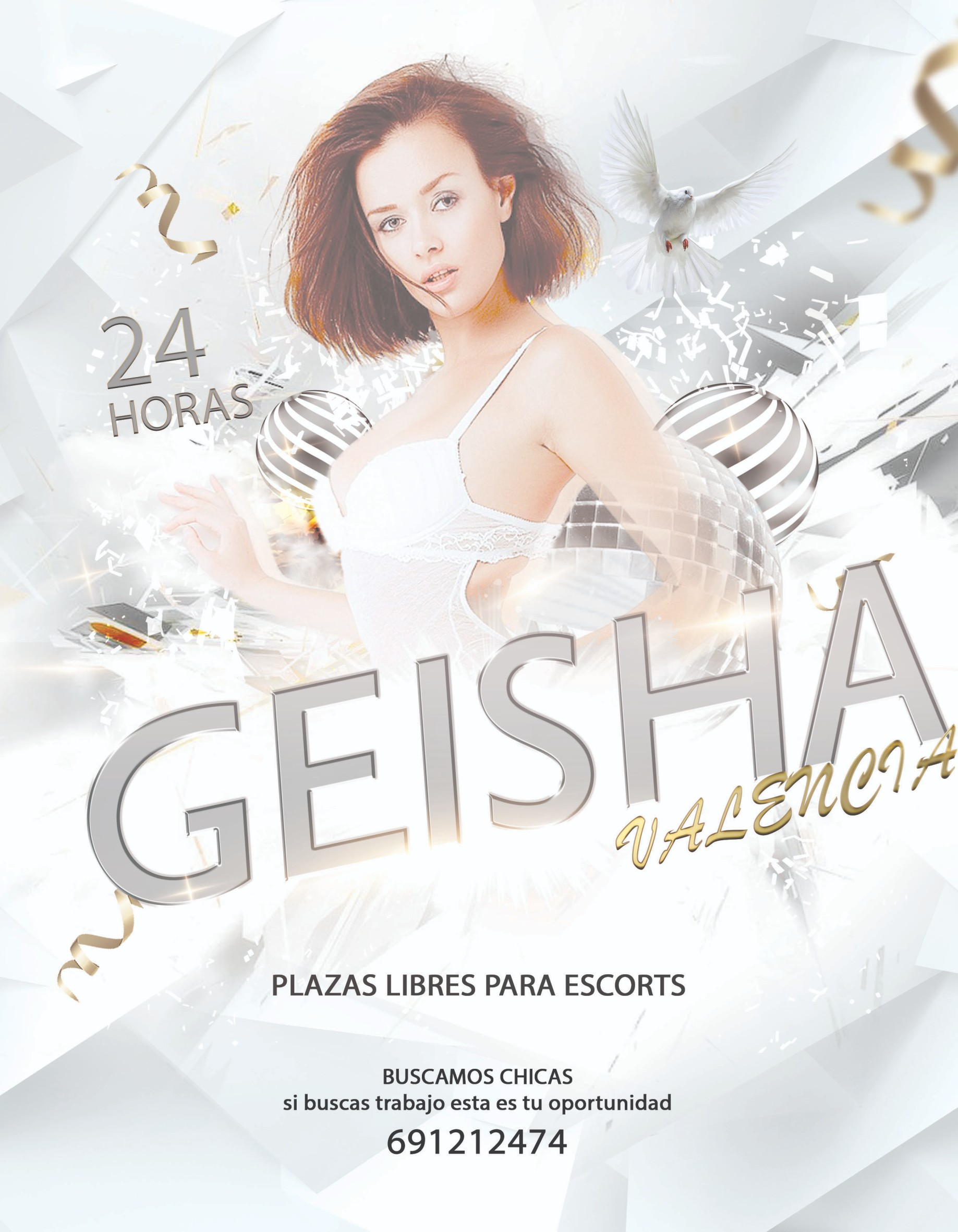 PLAZAS DISPONIBLES, GEISHA TE ESPERA!!